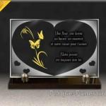 plaque coeur