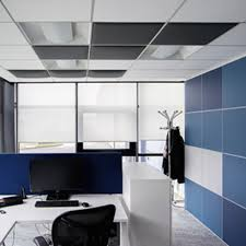 Le plafond acoustique