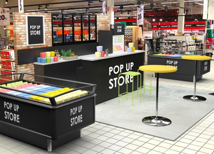 Gros plan sur les pop-up store